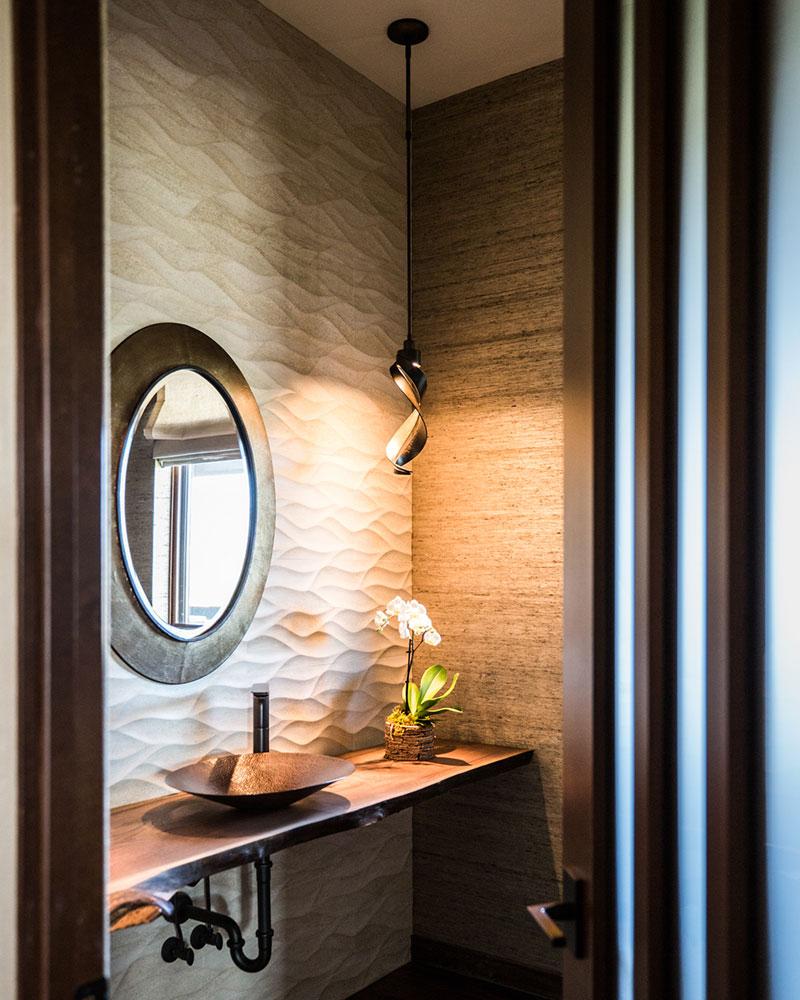 Black Bull residence bathroom