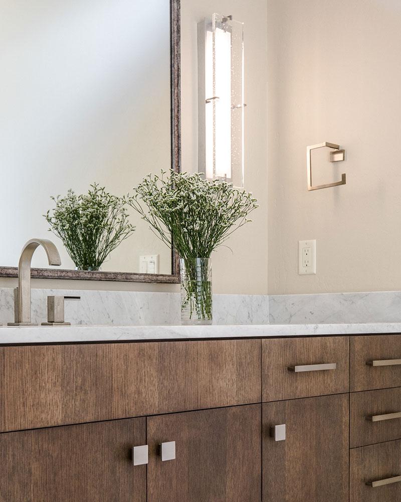 Black Bull residence bathroom vanity