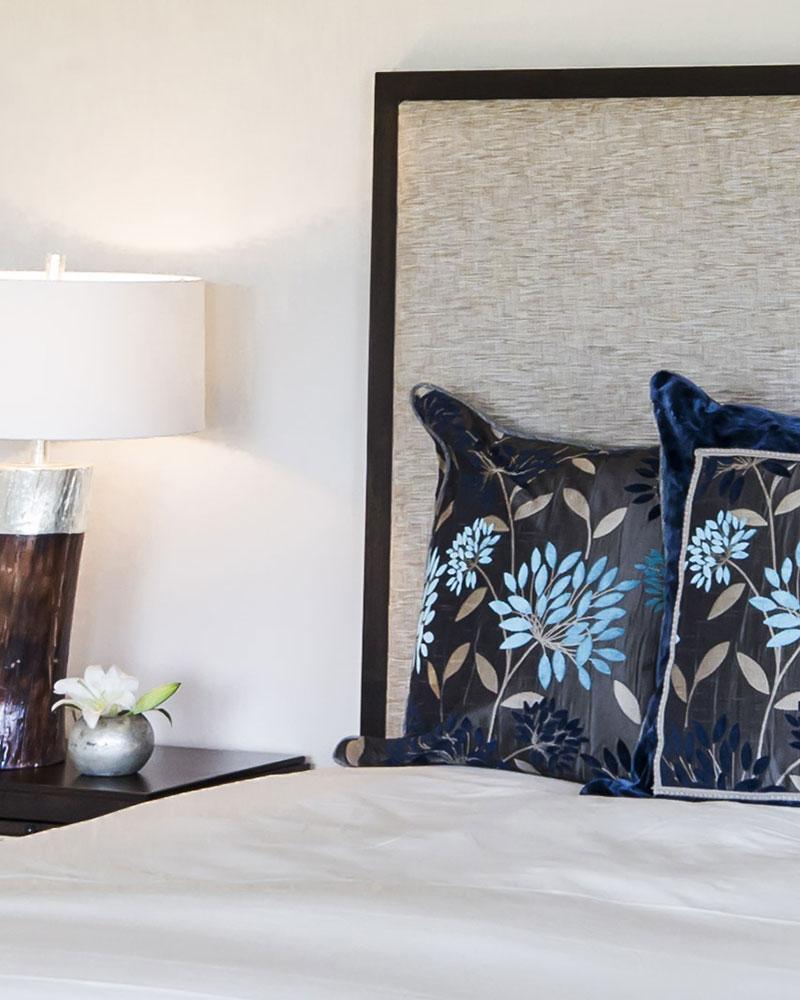 bedroom in Black Bull Residence designed by Elizabeth Robb Interiors