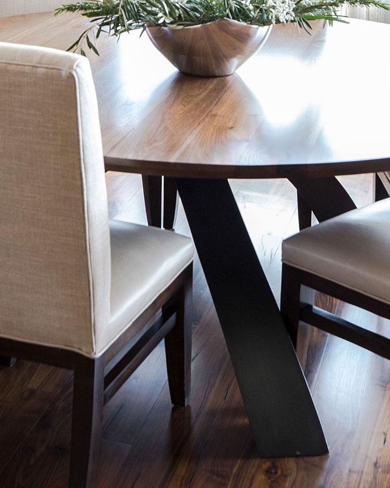 Black Bull residence dining room table