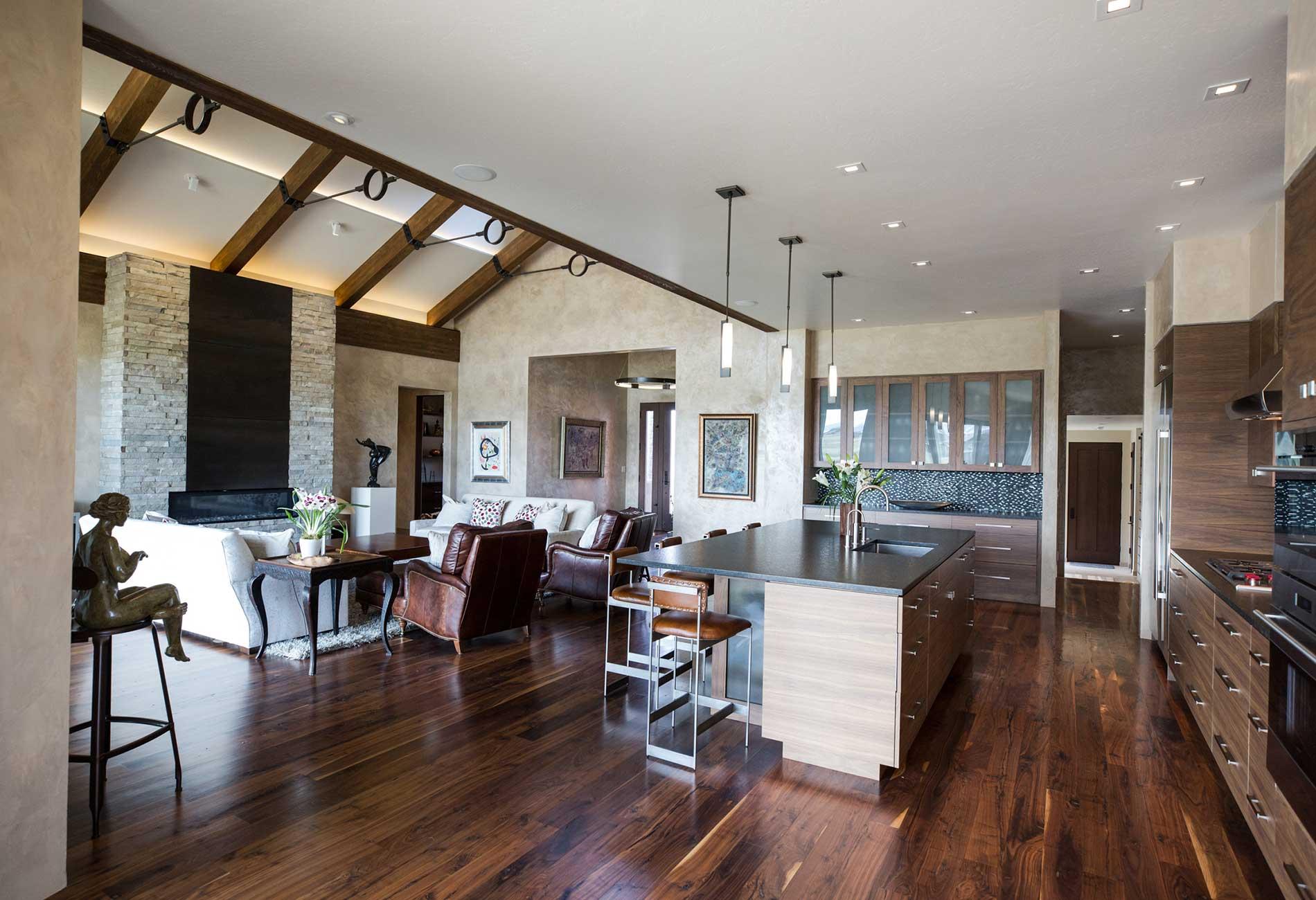 Black Bull residence great room