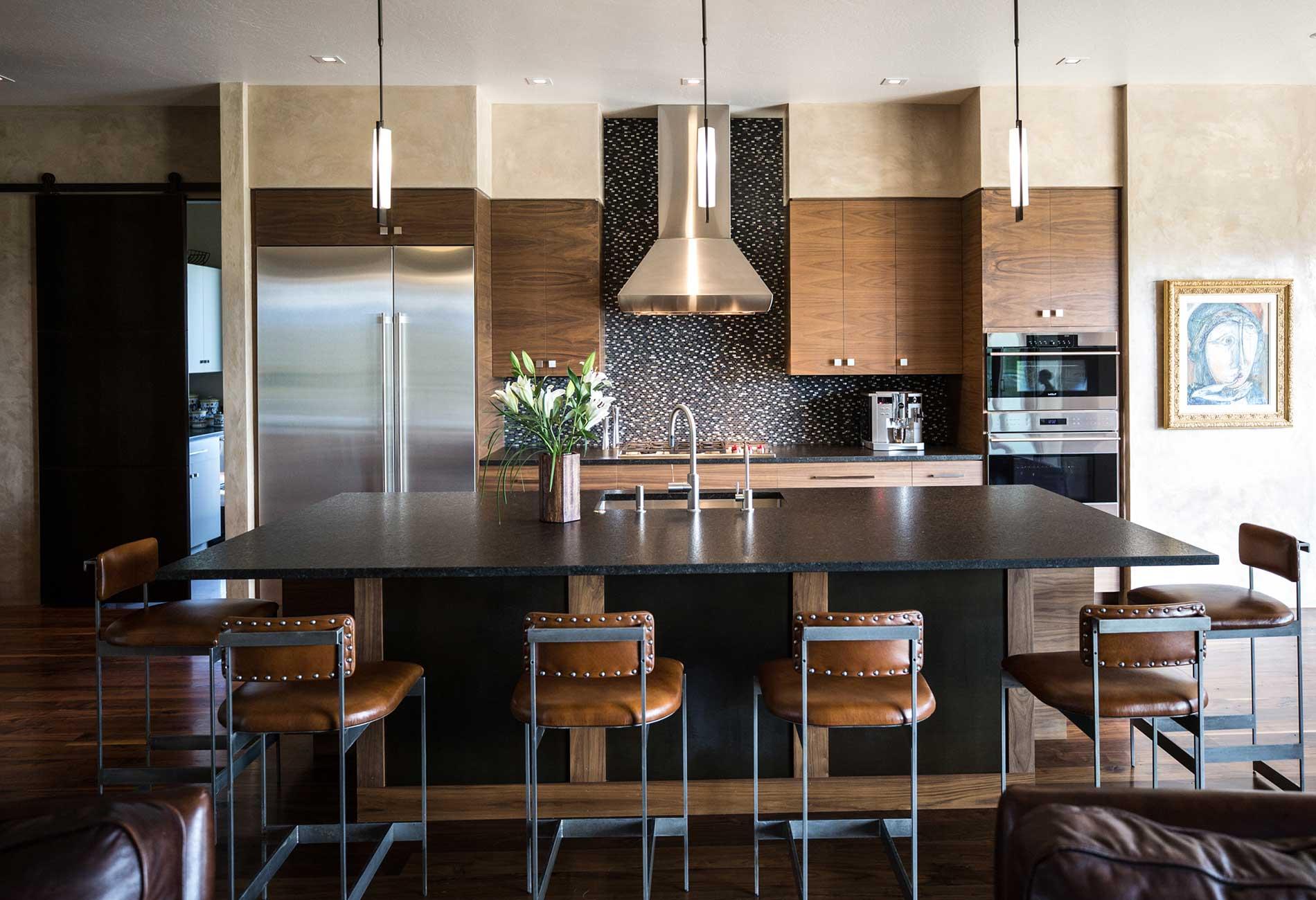 Black Bull residence kitchen